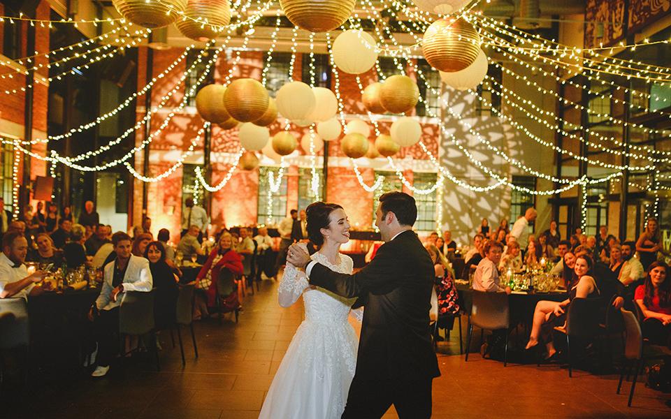 Wintec Atrium wedding