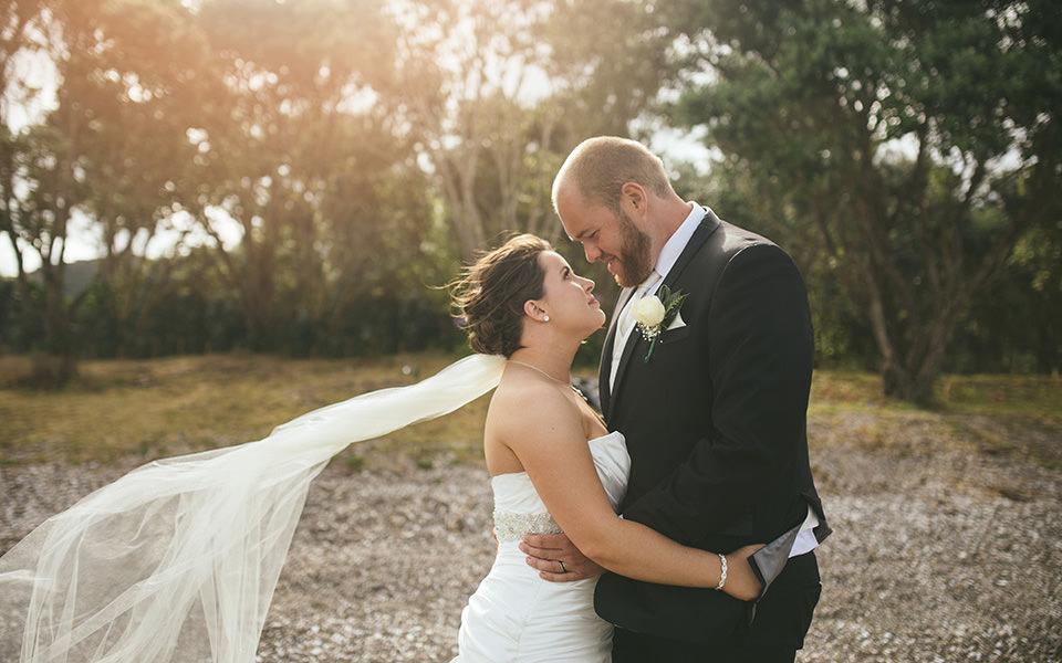 Cable Bay wedding photos