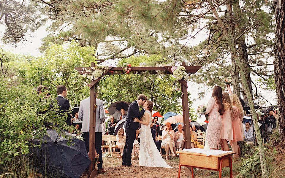 forest wedding video